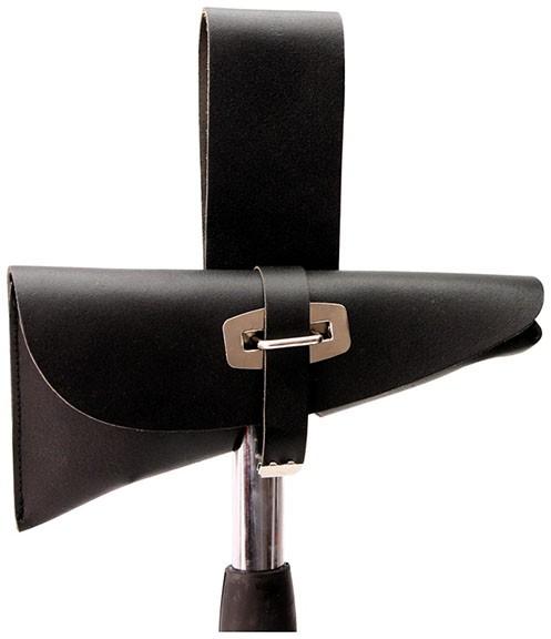 Beiltasche  DIN 14924 schwarz, Leder