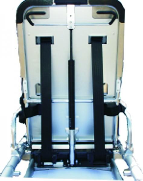 Automatik-Statik-Rückhaltesystem f.Stollenwerk-