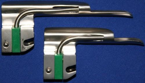 Laryngoskop Spatel Gr. 0 Miller Kaltlicht