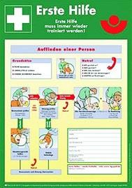 Anleitung zur Ersten Hilfe nach DIN 4844