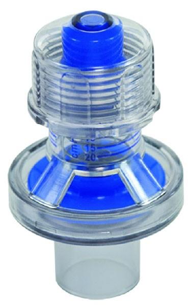 Peep-Ventil 20 mbar, blau,  autoklavierbar