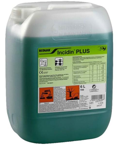 Incidin Plus 6 Liter Kanister