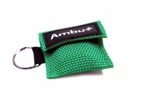 AMBU Life Key im Nylon-Softcase grün