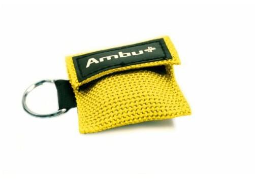 AMBU Life Key im Nylon-Softcase gelb