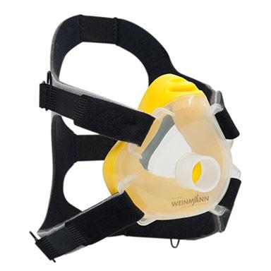 10er-Set Premium CPAP-/NIV-Einwegmaske  Gr. S gelb