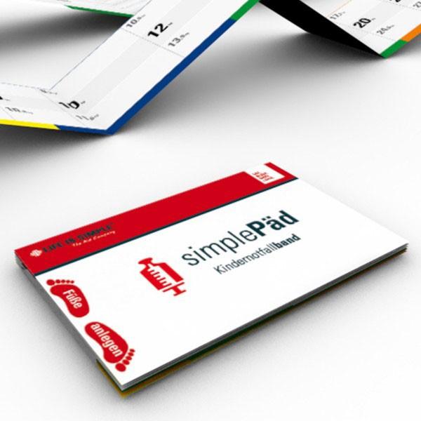 Kindernotfallband SimplePäd System Set