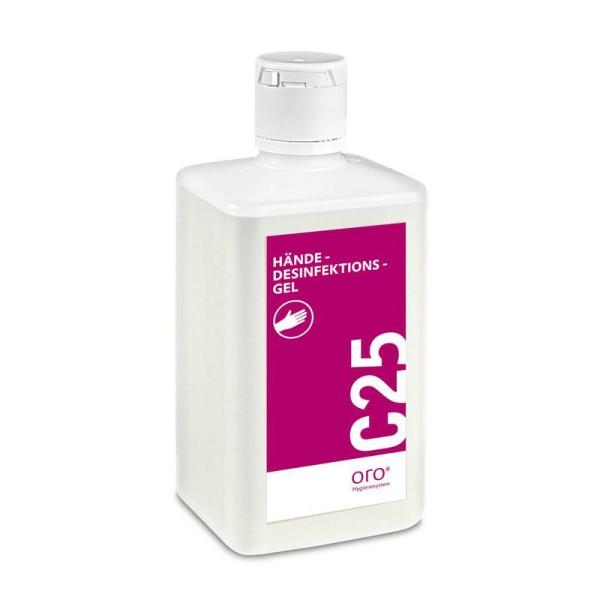 ORO C 25 Händedesinfektionsgel 500ml