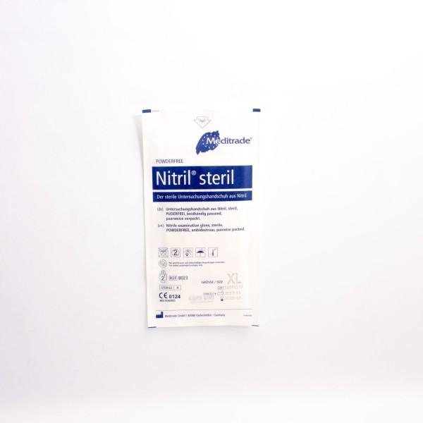 Nitril Untersuchungshandschuh steril Gr.XL