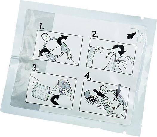 Defibrillationelektroden für MEDUCORE Easy
