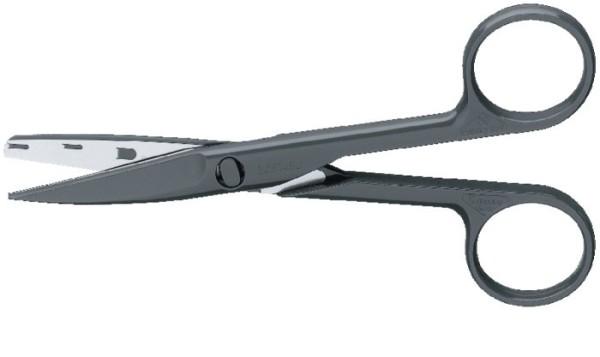 Chirurg. Schere spitz/stumpf 145 mm Einmalgebrauch