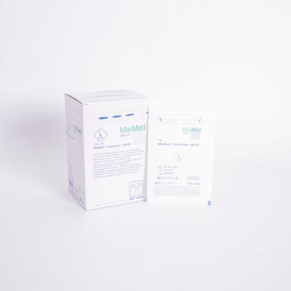 Copolymer Handschuhe steril Gr.L