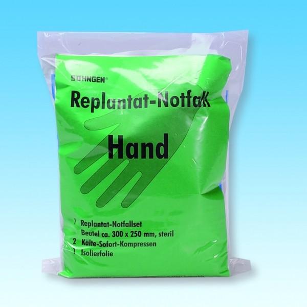 Replantat-Notfall-Set Hand