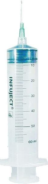 Einmalspritze 50ml für Injectomat