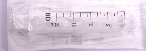 Einmal-Spritzen 20 ml