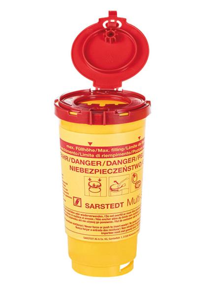 Kanülenabwurfbehälter Multi-Safe twin Plus