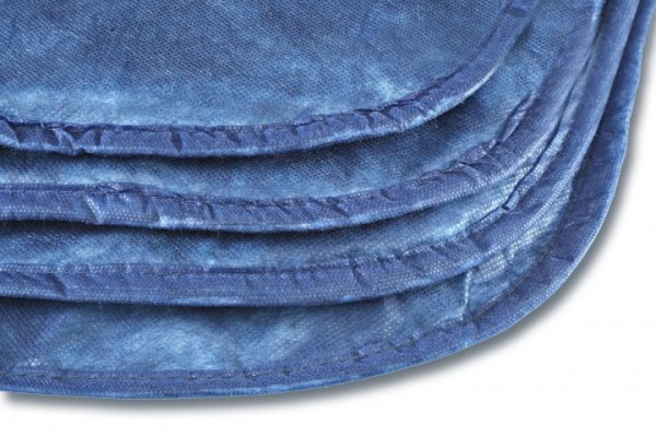 Einwegzudecke  blau 1,10 x 1,90 m 300 g