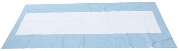 WRASFER Einweg - Umbettungstuch blau/weiß