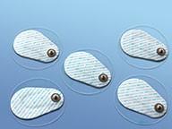 EKG Klebeelektrode mit dezentralem Druckknopf