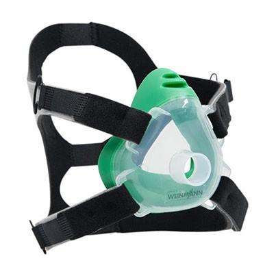 10er-Set Premium CPAP-/NIV-Einwegmaske Gr. M grün