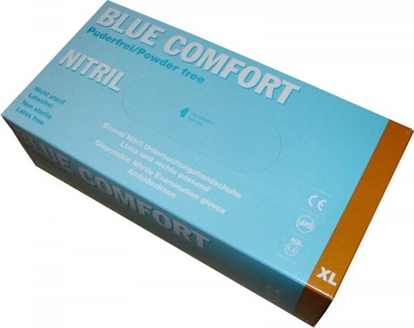 Untersuchungshandschuh Blue Comfort Nitril blau XL