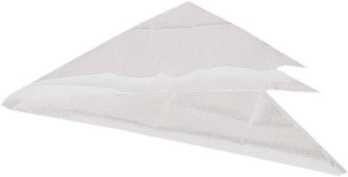 Dreiecktuch, weiß Baumwolle