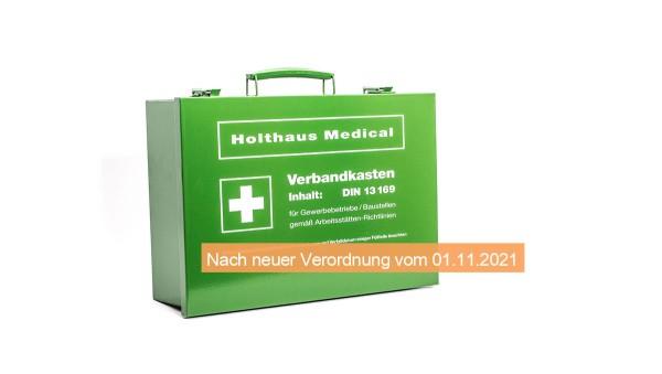Betriebs - Verbandkasten gefüllt nach DIN 13169