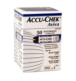 Teststreifen für Accu-Chek Aviva BZ-Gerät