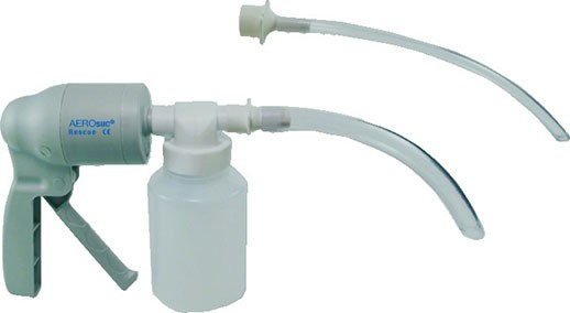 AEROsuc Handabsaugpumpe komplett mit Behälter