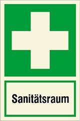 Rettungszeichen nach DIN 4844 Erste Hilfe, 40x30cm