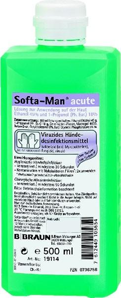 Softa-Man   acute 500ml Flasche