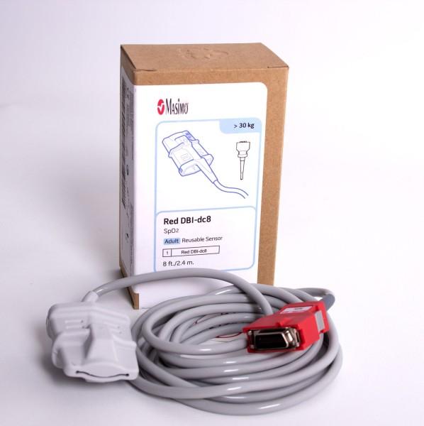 SpO²-Sensor Mehrweg Masimo für Erwachsene Red