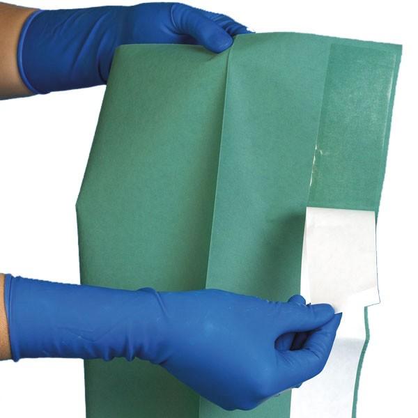 Abdecktuch, steril   75x90 cm selbstklebend