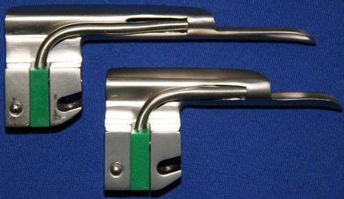 Laryngoskop Spatel Gr. 4 Miller Kaltlicht