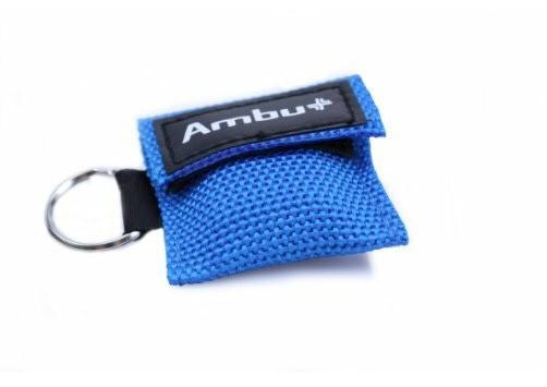 AMBU Life Key im Nylon-Softcase blau