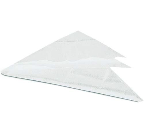 Dreiecktuch, weiß aus Vließ