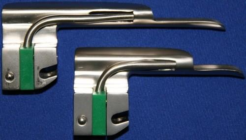 Laryngoskop Spatel Gr. 1 Miller Kaltlicht