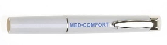 Diagnoselampe mit Druckschalter aus Metall