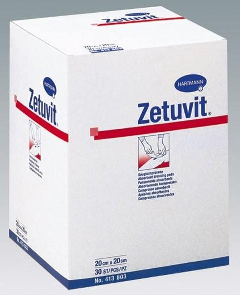 ZETUVIT Saugkomp. steril 10 x 10 cm