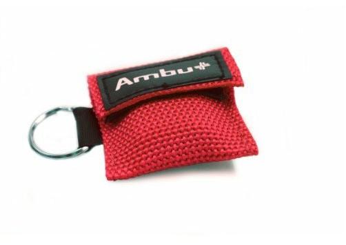 AMBU Life Key im Nylon-Softcase rot