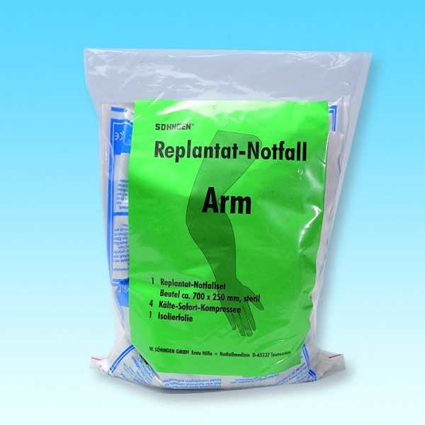 Replantat-Notfall-Set Arm