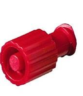 Kombi - Stopfen , rot