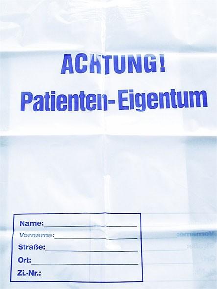 """Tragetaschen """"Patienteneigentum"""""""