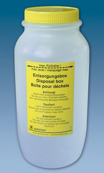 Entsorgungsbox international 2 Liter