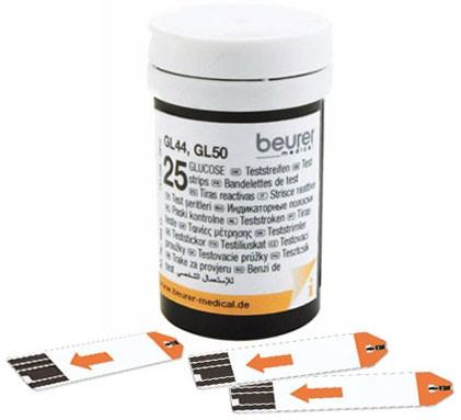 Beurer GL 44 / GL 50 Teststreifen