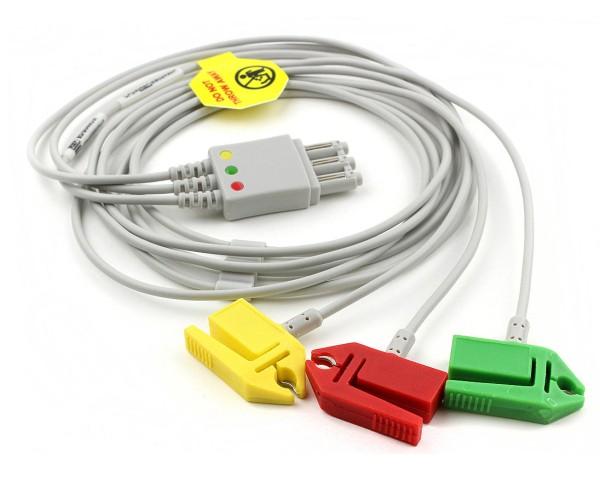 3-poliges EKG-Kabel für den Heartstart MRx (IEC)