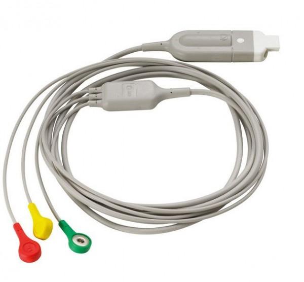 3-poliges EKG-Kabel für Heartstart FR 3