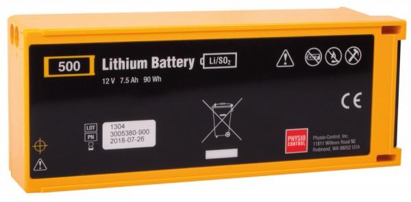 LIFEPAK 500 Lithium-Batterie nicht aufladbar