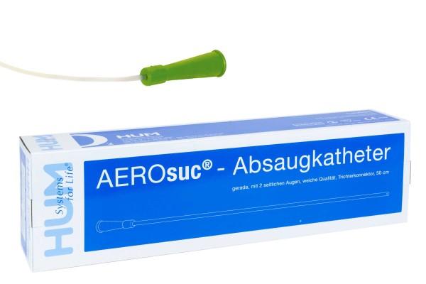 Absaugkatheter gerade, CH06, 50cm hellgrün