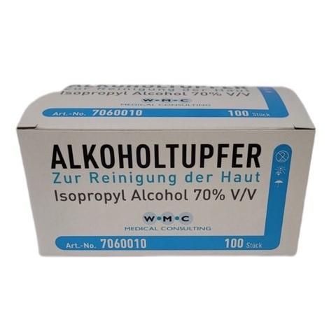 Alkoholtupfer   Packung mit 100 Stück