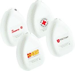 AMBU Taschenmaske im weißen Hardcase MHD